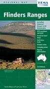 Flinders Ranges térkép - Hema
