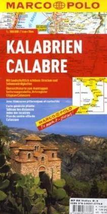 Calabria térkép - Marco Polo