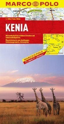 Kenya térkép - Marco Polo
