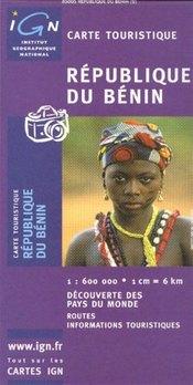 Benin térkép - IGN