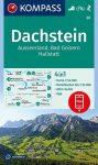 Dachstein turistatérkép (WK 20) - Kompass