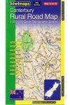 Canterbury térkép - Kiwimaps