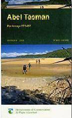 Abel Tasman National Park turistatérkép - Dep. of Conservation