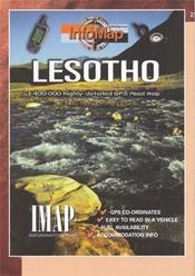 Lesotho térkép - IMAP