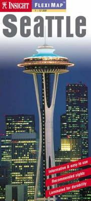Seattle laminált térkép - Insight