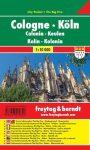 Köln zsebtérkép - Freytag-Berndt