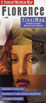 Firenze múzeumai laminált térkép - Insight