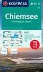 Chiemsee turistatérkép (WK 10) - Kompass