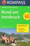 Innsbruck környéke turistatérkép (WK 290) - Kompass