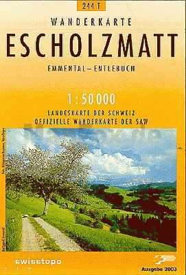 Escholzmatt - Landestopographie T 244