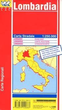 Lombardia autótérkép - LAC