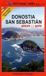 Donostia & San Sebastian térkép - Telstar