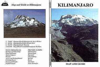 Kilimanjaro térkép - EWP
