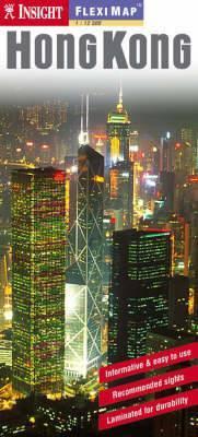 Hong Kong laminált térkép - Insight