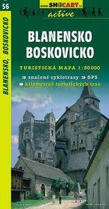 Blansko és Boskovice turistatérkép (56) - SHOCart