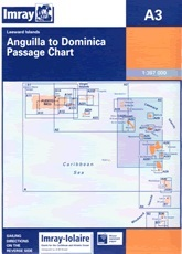 Anguilla — Dominica, Chart A3 - Imray