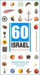 Izrael (60 for Israel Anniversary) autótérkép - Mapa Publishers