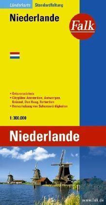 Hollandia autótérkép - Falk