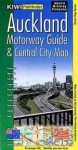 Auckland (Motorways Guide & Central City) Map térkép - Kiwimaps