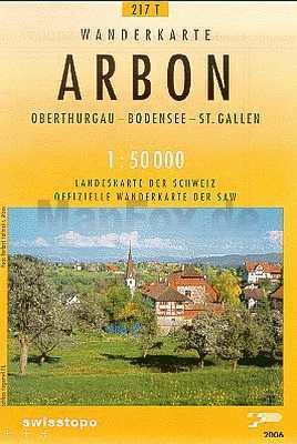 Arbon turistatérkép (T 217) - Landestopographie