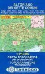 Altopiano dei Sette Comuni térkép (050) - Tabacco