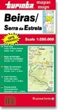 Beiras / Serra de Estrela térkép - Turinta
