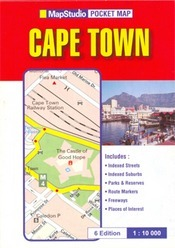 Cape Town zsebtérkép - Map Studio