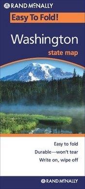 Washington State (EasyToFold) térkép - Rand McNally