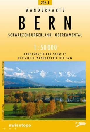 Bern turistatérkép (T 243) - Landestopographie