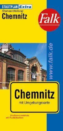 Chemnitz Extra várostérkép - Falk