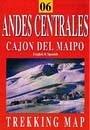 Andes Centrales: Cajon del Maipo térkép - JLM Mapas