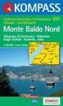 Monte Baldo (észak) turistatérkép (WK 691) - Kompass