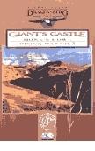 Drakensberg Range Map 3 - Giant's Castle, Monk's Cowl térkép - Kwazulu Natal Nature
