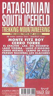Dél-Patagónia térkép - Zagier y Urruty