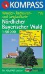 Bajor-erdő (észak) turistatérkép (WK 195) - Kompass