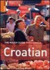 Croatian Phrasebook - Rough