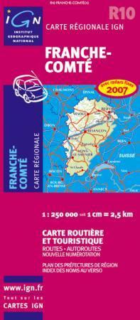 Franche-Comté - IGN R10