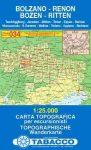 Bolzano, Renon (Bozen, Ritten) térkép (034) - Tabacco
