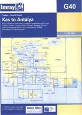 Kas to Antalya G40 - Imray