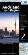 Auckland és környéke térkép - Hema