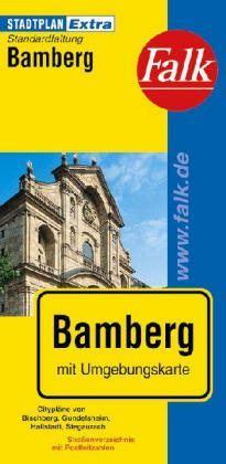 Bamberg Extra várostérkép - Falk