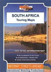 Cape Westcoast and the Cederberg térkép - Infomap