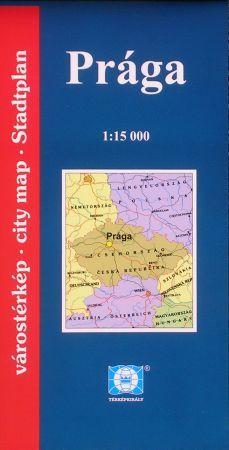 Prága várostérkép - Falk & Térképvilág