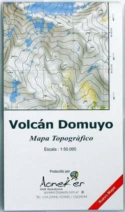 térkép 24 Volcán Domuyo térkép (24)   Aoneker   Espolarte