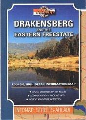 Drakensberg and the Eastern Free State térkép - Infomap