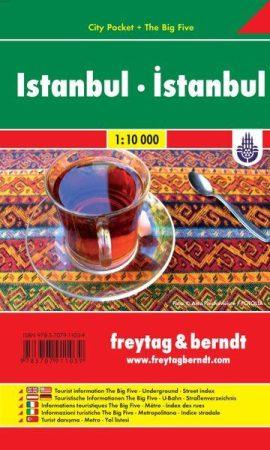 Isztambul zsebtérkép - Freytag-Berndt