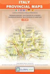Piacenza Province térkép (No38) - LAC