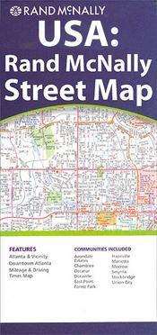 Orlando Metro, FL térkép - Rand McNally