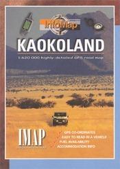 Kaokoland térkép - IMAP