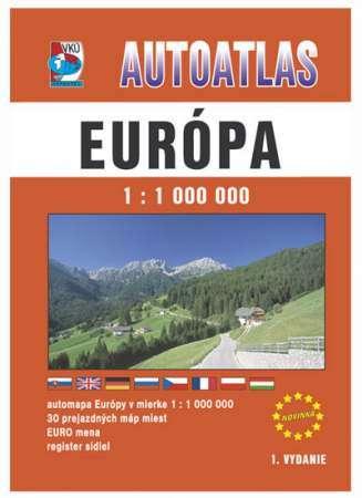 Európa autóatlasz - VKÚ